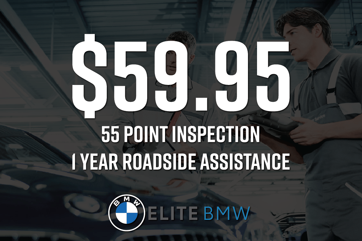 55 Point Inspection and 1 Year Roadside Assistance